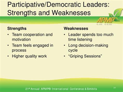 What is democraticparticipative leadership st thomas jpg 728x546