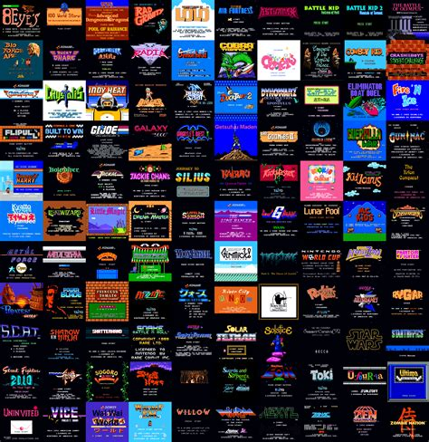 list of adult nes games png 2560x2640
